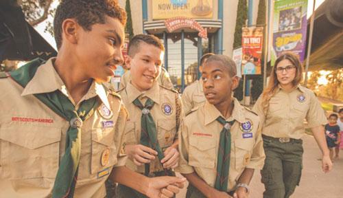 Boy Scout Charter Bus Field Trips